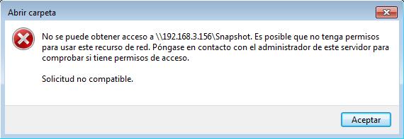 Acceder a los snapshots de FreeNAS desde Windows | USAM · Un